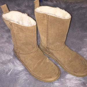 Tan American Eagle ankle boots